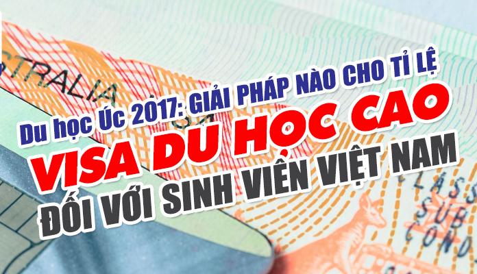 Giải pháp nào cho tỉ lệ Visa du học Úc cao đối với sinh viên Việt Nam